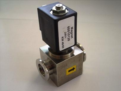 Ventil elektromagnetický jednosměrný rohový VP 10 EF