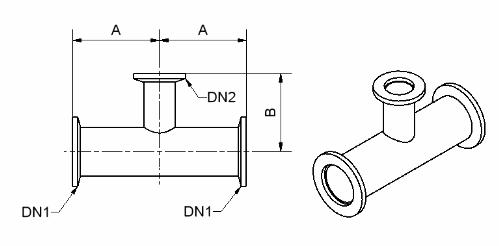 T-kus měřící KF 50/40 N