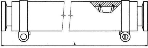 Plastová hadice KF 25/ 1500